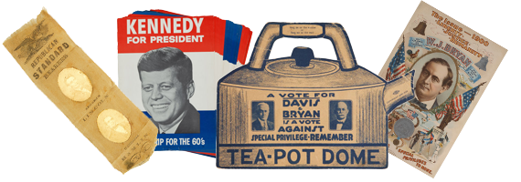 Image result for political campaign memorabilia
